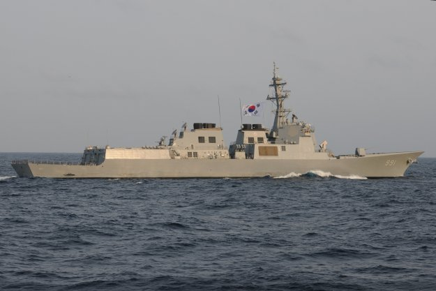 ROKS Sejong the Great (DDG-991) in 2012. US Navy Photo