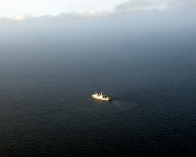 U.S. Moves Amphibious Warship Closer to Iraq, Four U.S. Ships in the Gulf
