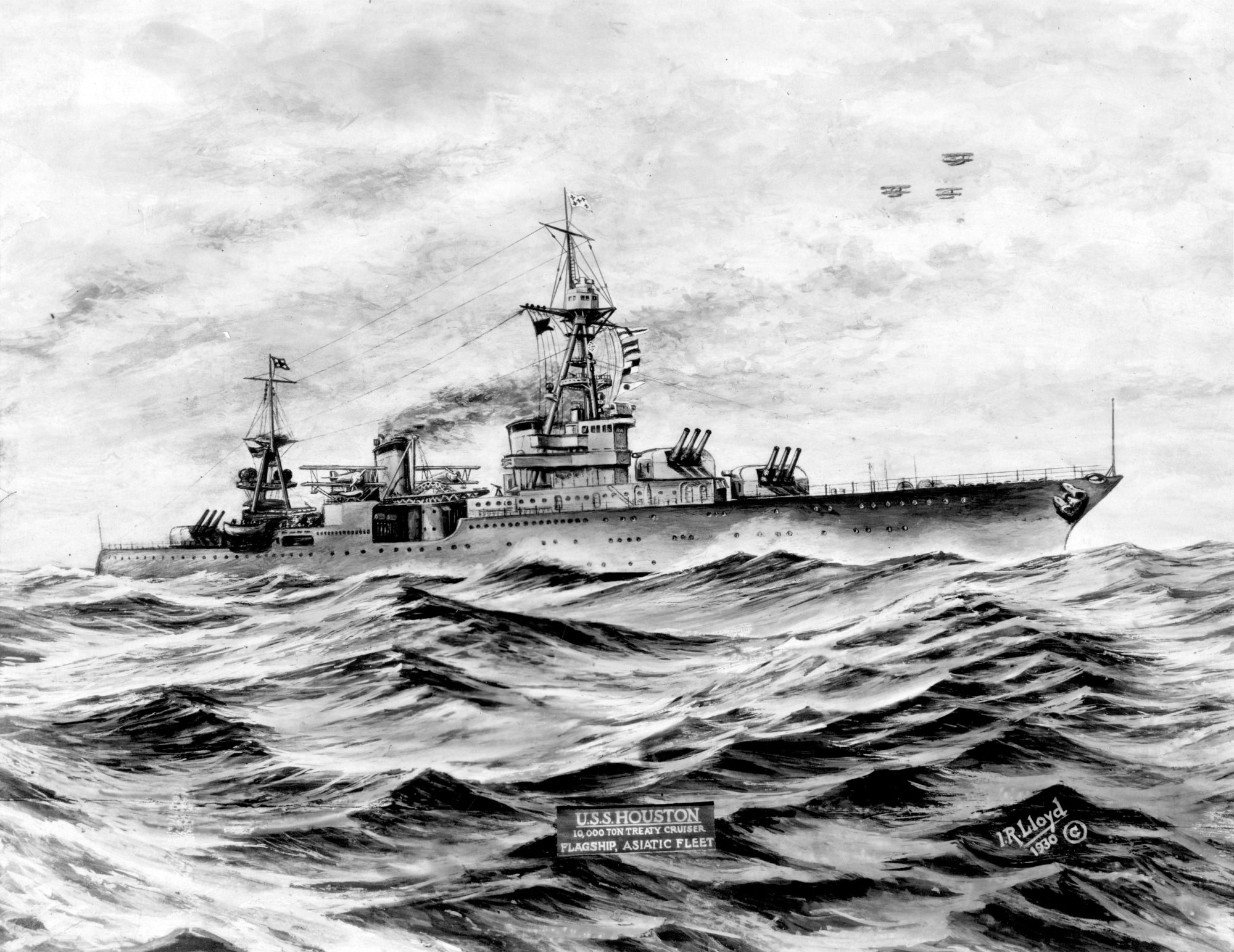 hight resolution of a 1930 print of uss houston us naval institute archives