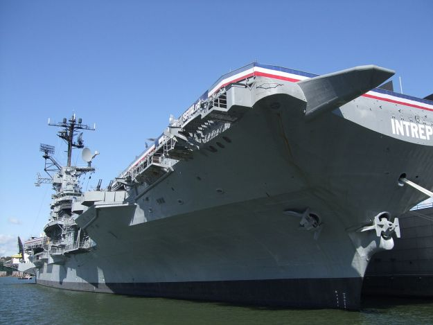 The Intrepid Sea, Air & Space Museum in New York City