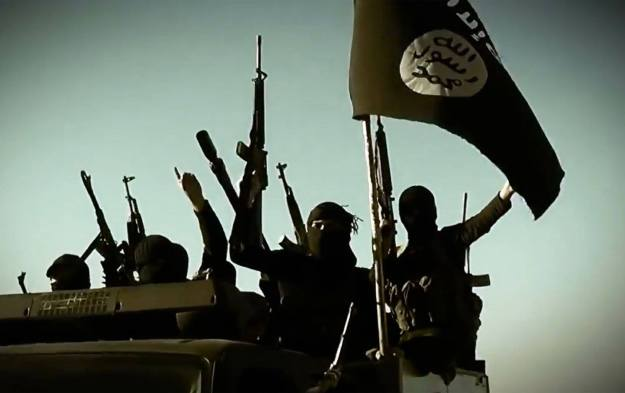 Image from a propaganda video released on March 17, 2014 by the Islamic State of Iraq and Syria (ISIS) via AFP.