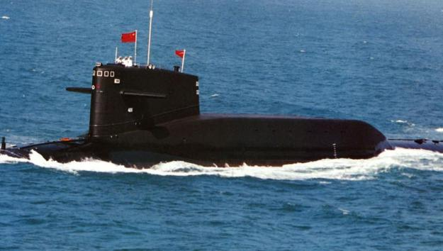 People's Liberation Army Navy Type-92 submarine nuclear ballistic missile submarine (SSBN). PLAN Photo