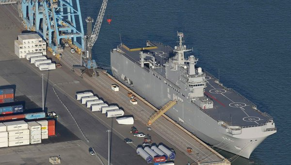 Update: Russia Willing to Wait Until End of Year On Mistral Deal