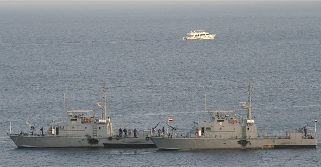 An undated photo of Egyptian patrol craft.