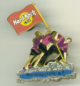 Hard Rock Café pin