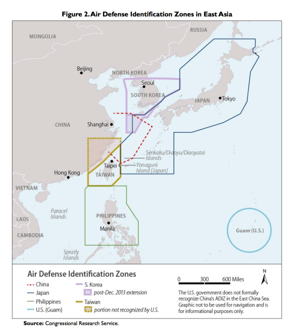 Document: Report to Congress on China's Air Defense Identification Zone
