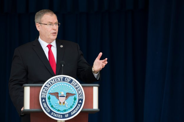 Deputy Secretary of Defense Bob Work on May 7, 2014 . DoD Photo