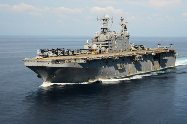 Navy to Decommission Big Deck Amphib Peleliu Tuesday, Ship Will Join Pearl Harbor Inactive Fleet