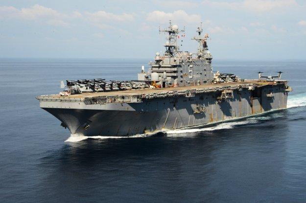 Navy To Decommission Big Deck Amphib Peleliu Tuesday Ship
