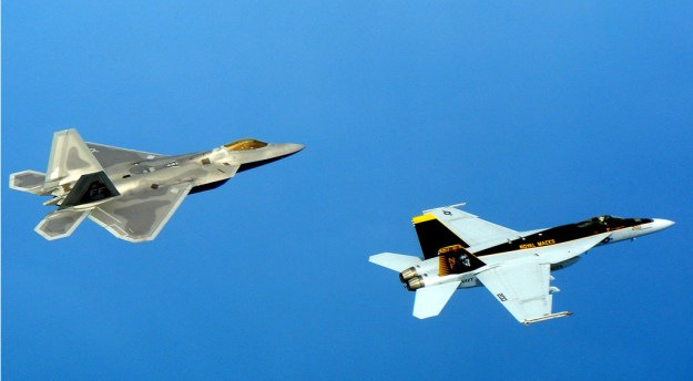 Navy and Air Force Planning Joint Exploration of Next Generation Fighter Follow Ons to F-22 and F/A-18E/F