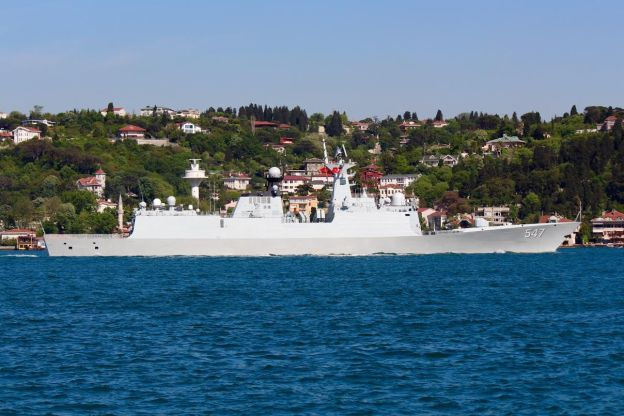 Why the Chinese Navy is in the Mediterranean
