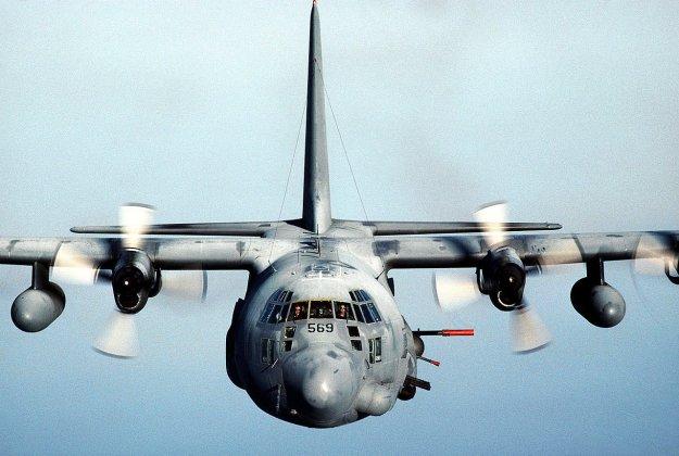 Undated image of an U.S. Air Force AC-130H Spectre Gunship. US Air Force Photo