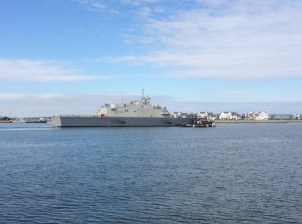 Littoral Combat Ship USS Milwaukee Departed Virginia for Mayport on Wednesday