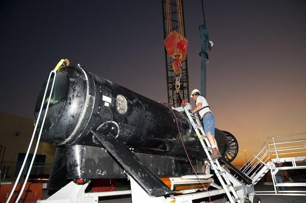 Lockheed Martin's Remote Multi Mission Vehicle in 2010. US Navy Photo