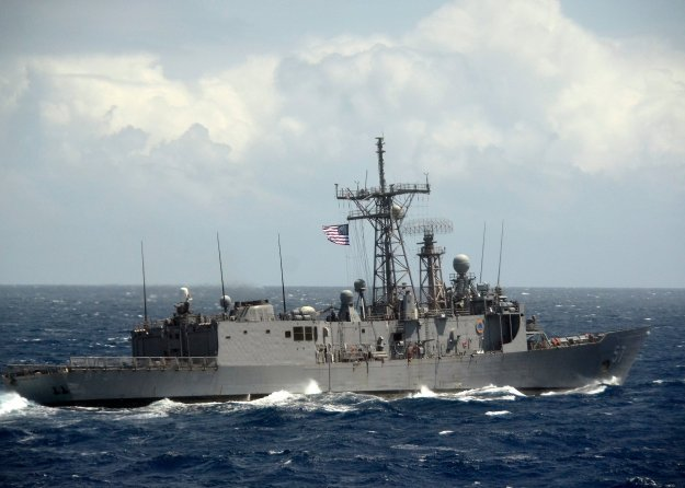 USS Reuben James (FFG-57) in 2012. US Navy Photo