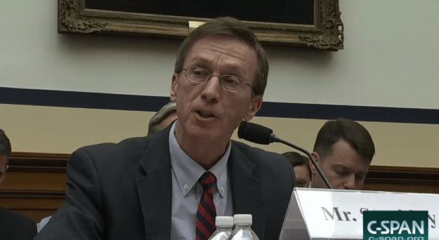 Navy's top acquisition official Sean Stackley testifies before the HASC on March, 23 2016. CSPAN Image