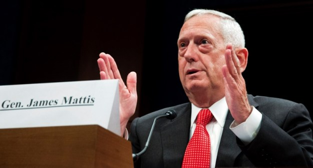Retired U.S. Marine Gen. James Mattis