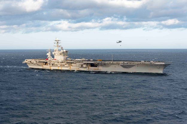 VIDEO: USS Dwight D. Eisenhower Underway