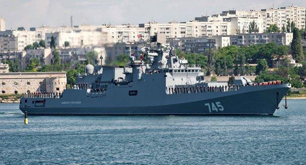 Russian Admiral Grigorovich frigate. Sputnik Photo
