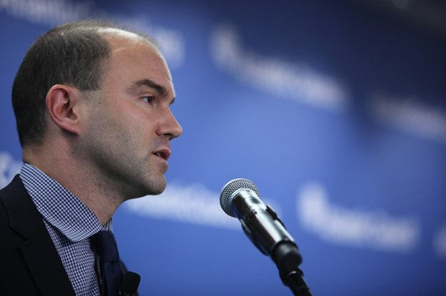 """Tearing up the Iran nuclear deal """"just doesn't seem like a very wise thing to do,"""" Ben Rhodes, deputy national security advisor for strategic communications, said at the Atlantic Council on June 16. Atlantic Council photo."""