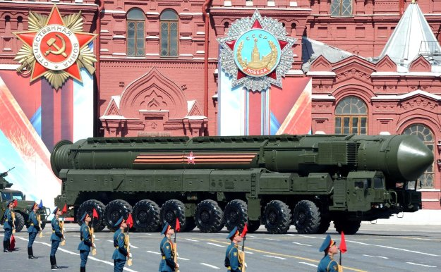 Military parade in Red Square in Moscow on May 9, 2016. Kremlin Photo