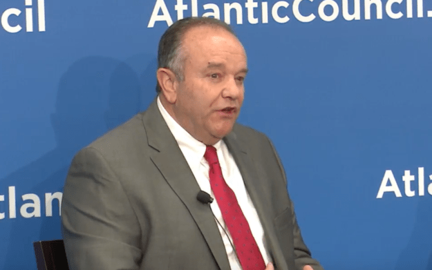 Retired NATO commander Gen. Philip Breedlove on June 8, 2016. Atlantic Council Image