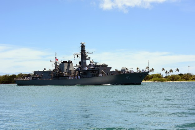 Chilean Navy Set to Upgrade Frigates with U.S. Missiles