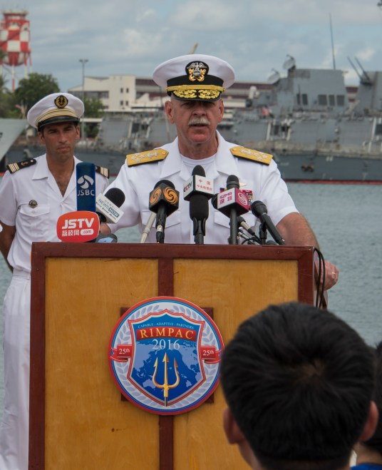 U.S. Pacific Fleet's Swift Calls for Military Transparency in China Visit