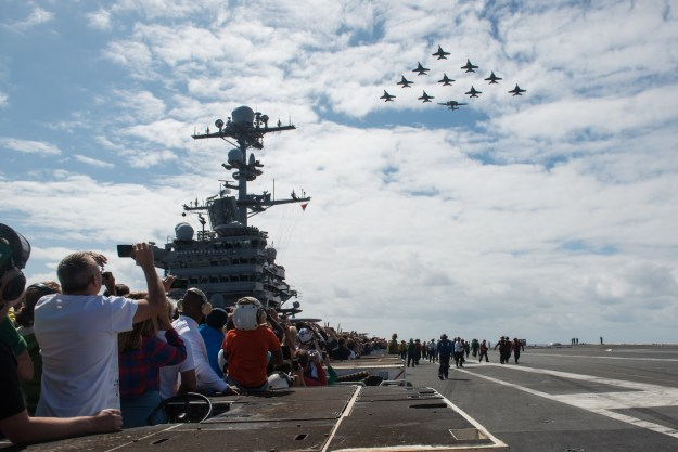 Aircraft Carrier Stennis Returns Home After 7-Month Indo-Pacific Deployment
