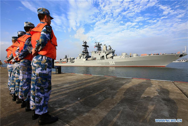 China, Russia Kick Off Joint South China Sea Naval Exercise; Includes 'Island Seizing' Drill