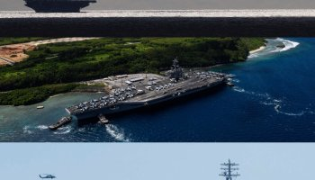 VIDEO: 3 Carriers Now Operating Off the Korean Peninsula