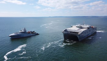 USNS Carson City Conducts First-Ever Black Sea Operation by