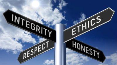 road sign ethics