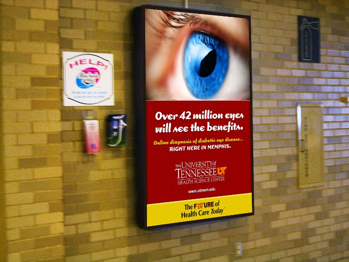 Over 42 million eyes will see the benefits. Online diagnosis of diabetic eye disease