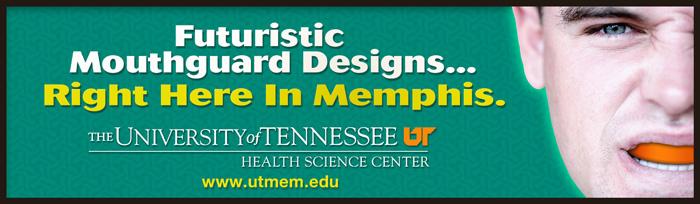Futuristic Mouthguard Designs... Right Here In Memphis