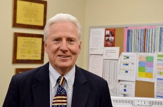 John Douglas Seeberg, DMD, associate dean of Extramural Affairs for the UTHSC College of Dentistry