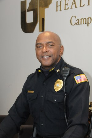 Bruce Holden named interim chief of police for UTHSC.