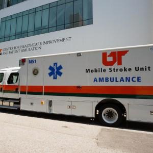 UTHSC Mobile Stroke Unit