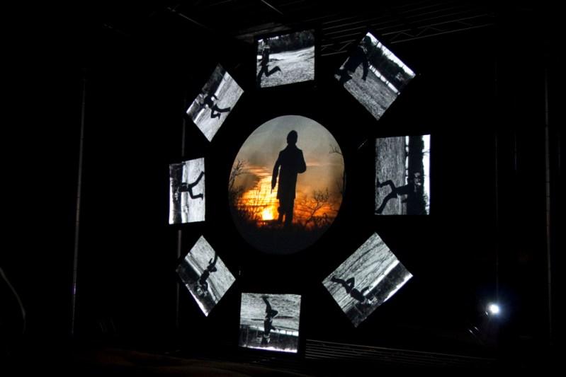 """Samsara"" (2010), video installation by Harrison Huaqing Pang"