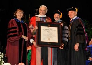Wilson_honorary degree