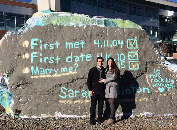Sarah and Clinton