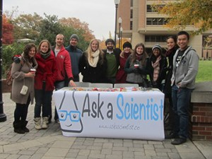 Ask-A-Scientist