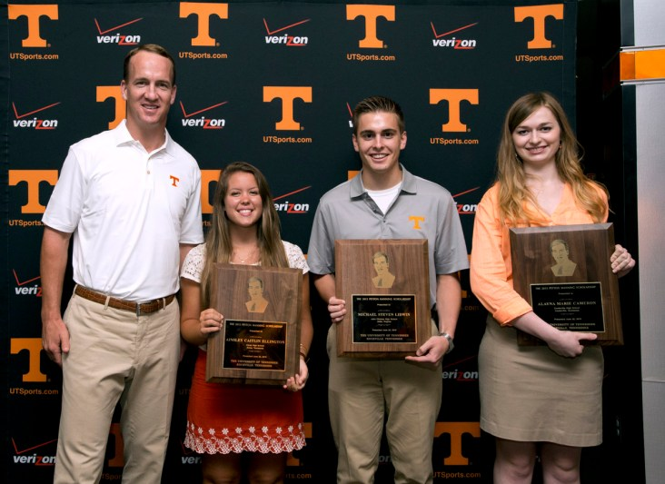 Knoxville, TN - 2015.06.22 Annual Peyton Manning Scholarship presentation. Photo By: Joy Kimbrough/  Tennessee Athletics