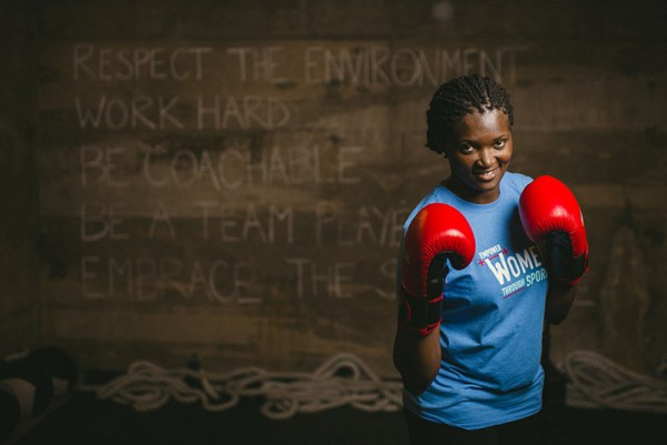 Cynthia Coredo of Kenya is one of sixteen participants in this year's Global Sports Mentoring Program.