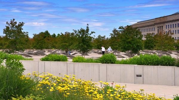 Pentagon Memorial daytime