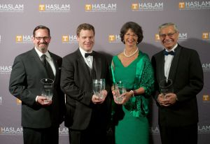 Haslam alumni award winners
