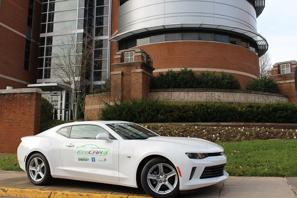 UT's 2016 Camaro for the EcoCAR 3 competition.