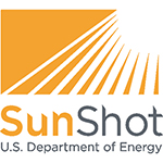 The US Department of Energy logo for the SunShot Initiative.