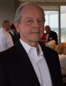 Kabalka at his retirement party in April.