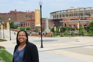 Michelle Harding, a doctoral candidate in accounting in UT's Haslam College of Business.